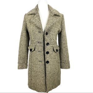 Giacca By Gallery Pea Wool Blend Coat Petite Small